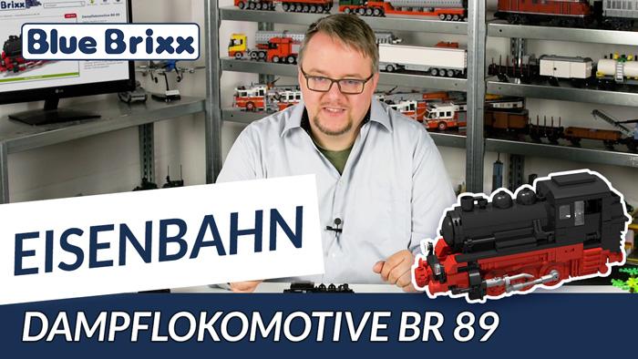 Youtube BlueBrixx steam locomotive BR 89