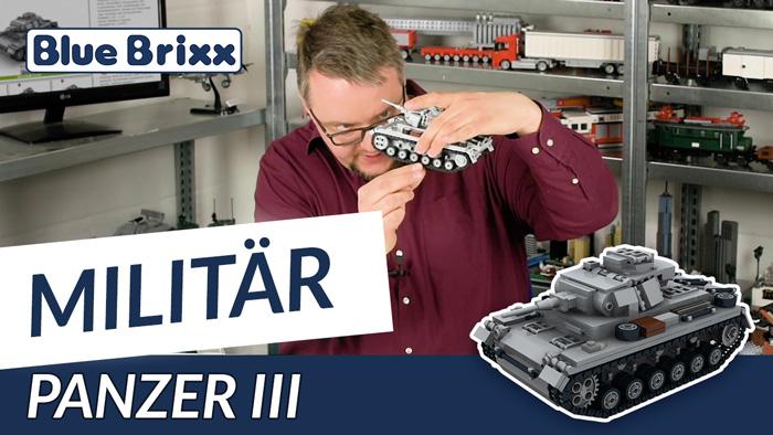 Youtube: Tank III by BlueBrixx