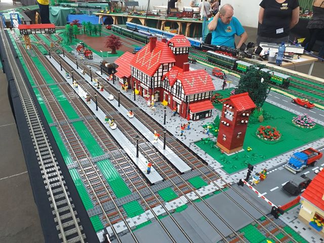 1st brick model railway meeting in Leipzig
