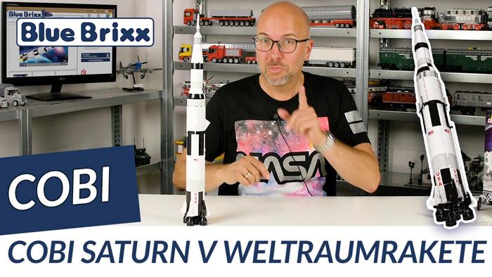 Youtube: Saturn V Rakete von Cobi @ BlueBrixx - mit Speedbuild!