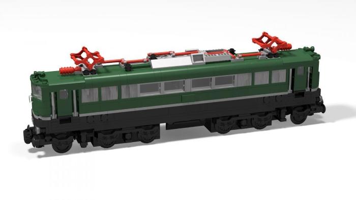 BlueBrixx Special: Lokomotive E151