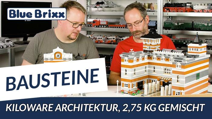 Youtube: Kiloware Architektur 2,75 kg @ BlueBrixx - mit Beispielmodellen!