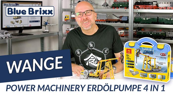 Youtube: Power Machinery Erdölpumpe 4 in 1 von Wange @ BlueBrixx