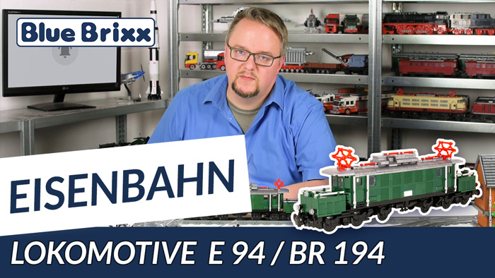 Youtube: Lokomotive E 94/BR 194 von BlueBrixx