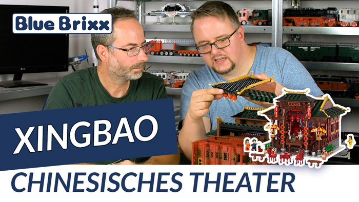 Youtube: Chinesisches Theater von Xingbao @ BlueBrixx