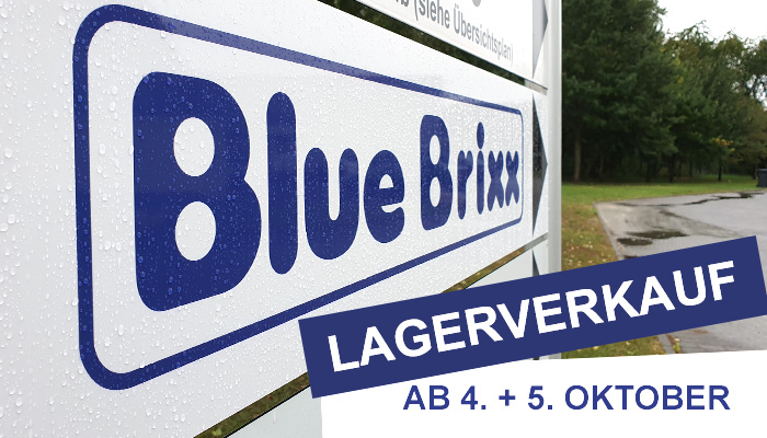Lagerverkauf BlueBrixx