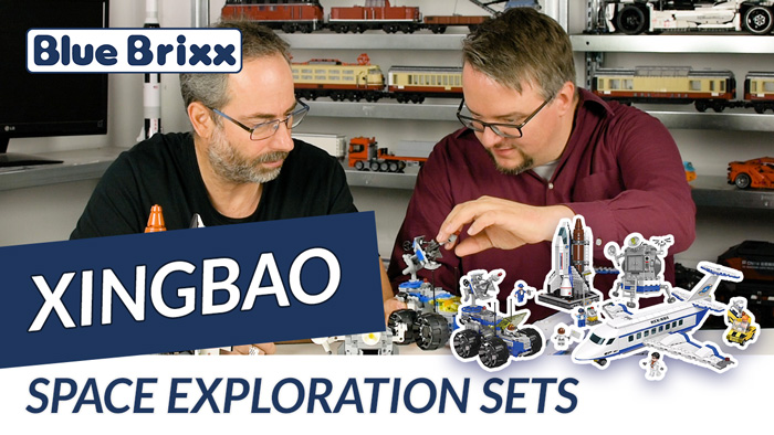 Youtube: Space Exploration Sets von Xingbao @ BlueBrixx