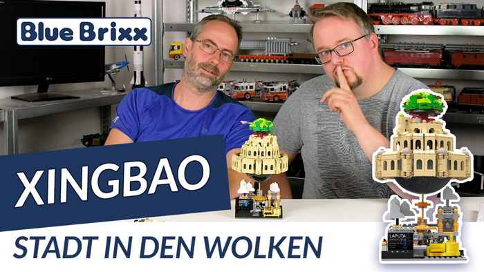 Youtube: Stadt in den Wolken von Xingbao @ BlueBrixx