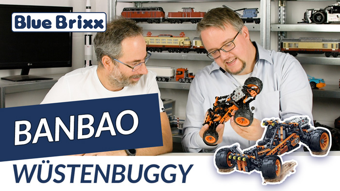 Youtube: Wüstenbuggy von BanBao @ BlueBrixx