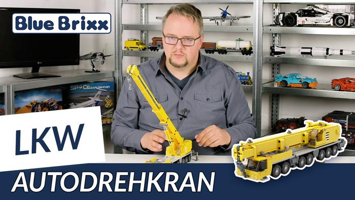 Youtube: Autodrehkran 1400 mit 7 Achsen von BlueBrixx