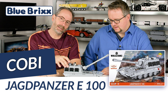 Youtube: Jagdpanzer E100 in der World-of-Tanks-Edition von Cobi @ BlueBrixx