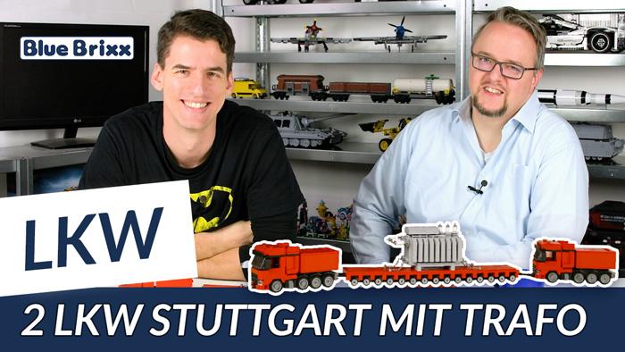 Youtube: LKW mit Trafo auf Tieflader von BlueBrixx - der Held der Steine hat's gebaut!