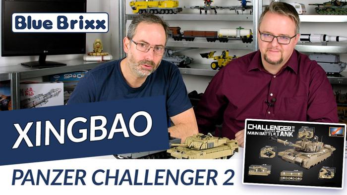 Panzer Challenger 2 von Xingbao @ BlueBrixx