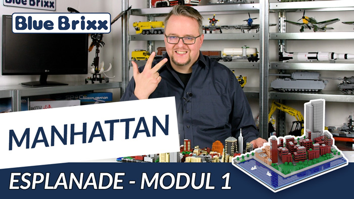 Youtube: Manhattan-Modul 1 - Esplanade von BlueBrixx