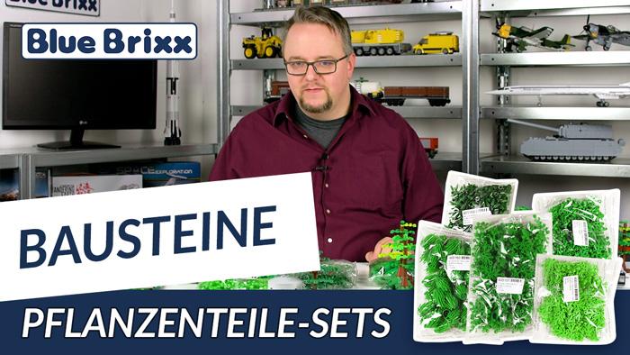 Youtube: Pflanzenteile-Sets von BlueBrixx - es grünt so grün!