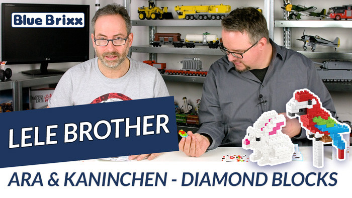 Youtube: Ara & Kaninchen von Lele Brother @ BlueBrixx - mit Speedbuild!