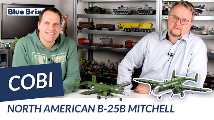 Youtube: North American B-25B Mitchell von Cobi @ BlueBrixx
