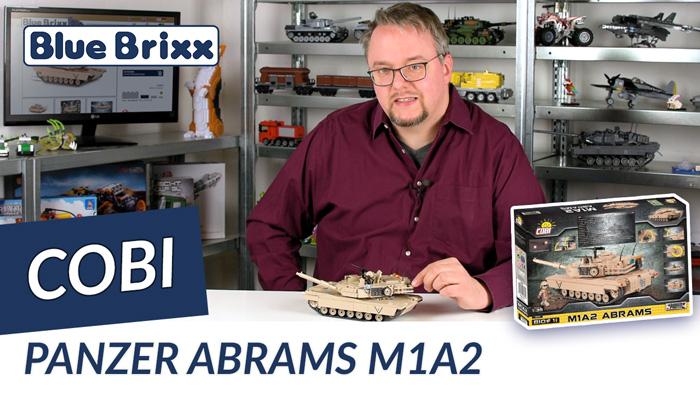 Youtube: Kampfpanzer M1A2 Abrams von Cobi @ BlueBrixx