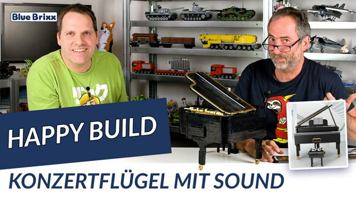 Youtube: Konzertflügel mit Sound von Happy Build @ BlueBrixx