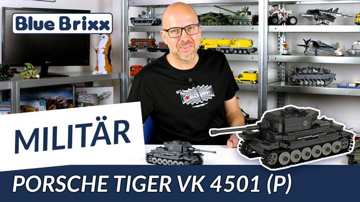 Youtube: Porsche Tiger-Prototyp VK 4501 P von BlueBrixx Pro @ BlueBrixx