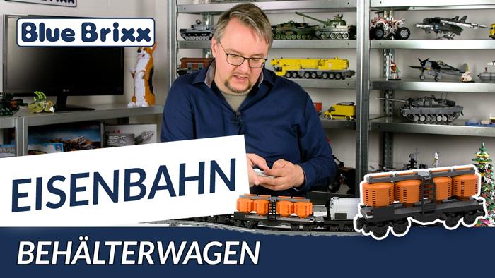Youtube: Behälterwagen von BlueBrixx - 3 neue Güterwagen eingetroffen!
