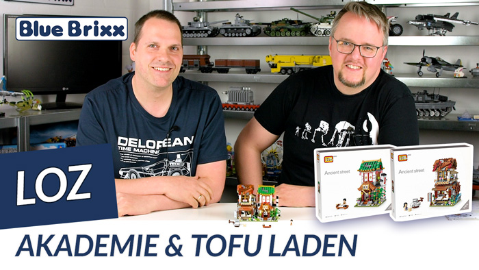 Youtube: Akademie & Tofu-Laden von LOZ aus Mini Blocks @ BlueBrixx