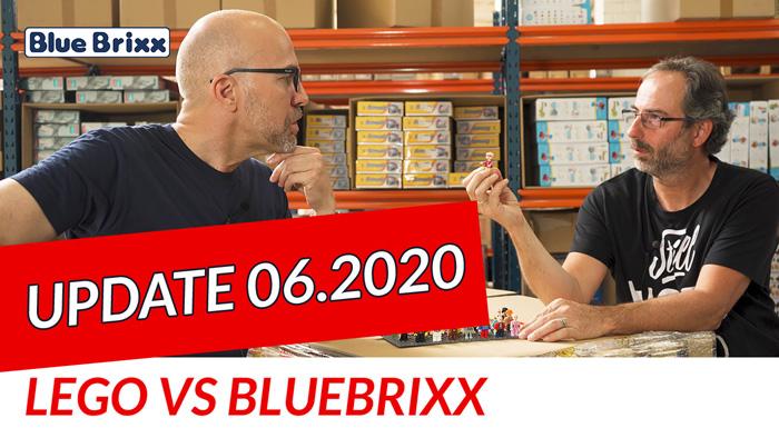Youtube: Lego vs BlueBrixx  - Update Juni 2020