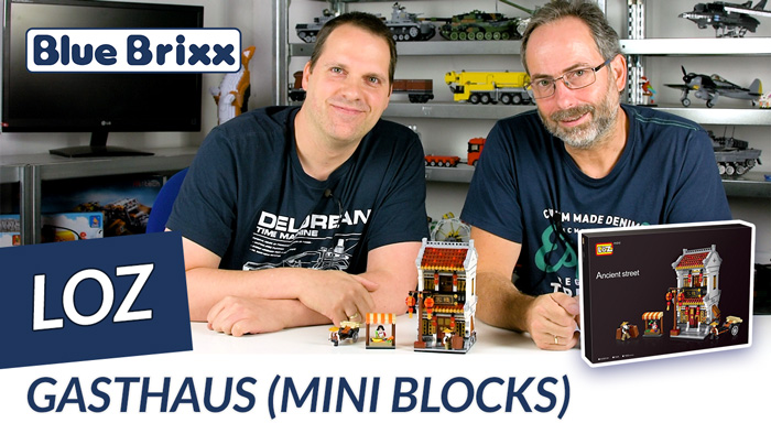 Youtube: Gasthaus von LOZ aus Mini Blocks @ BlueBrixx