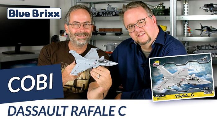 Youtube: Dassault Rafale C von Cobi @ BlueBrixx