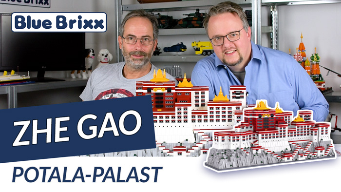 Youtube: Potala-Palast von Zhe Gao @ BlueBrixx - 3.600 Teile in Tibet!