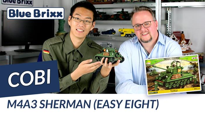 Youtube: M4A3 Sherman Easy Eight von Cobi @ BlueBrixx