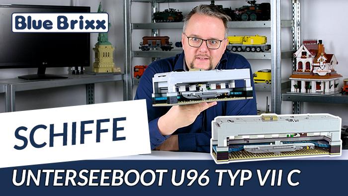 Unterseeboot U 96 Typ VII C von BlueBrixx