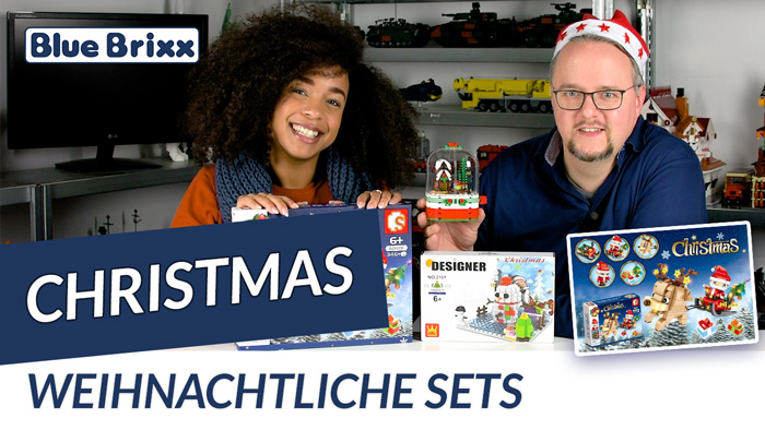 Drei weihnachtliche Sets für kleines Geld @ BlueBrixx