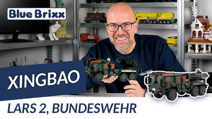 Youtube: Bundeswehr LARS 2 von Xingbao @ BlueBrixx