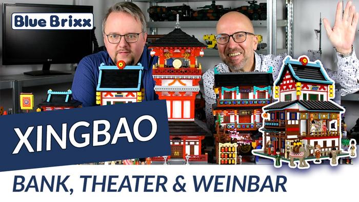 Youtube: Bank, Theater & Weinbar von Xingbao @ BlueBrixx - ein Gebäude der Tang-Dynastie!