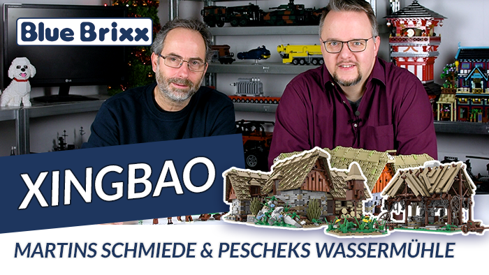 Youtube: Schmiede & Wassermühle - 2 Xingbao-Sets zu Kingdom Come Deliverance @ BlueBrixx