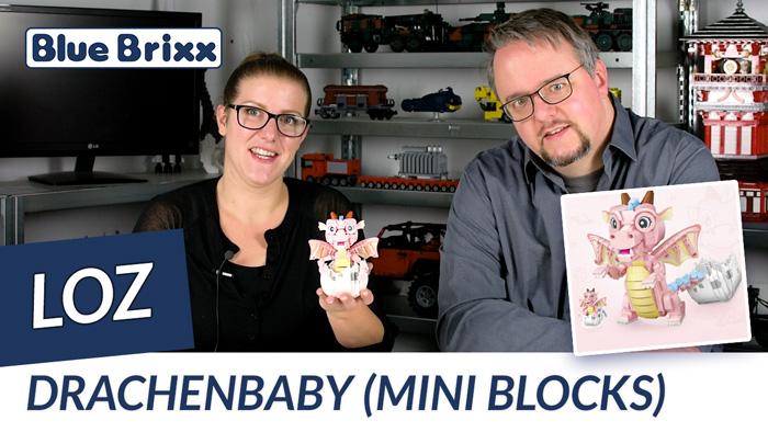 Drachenbaby von LOZ aus Mini Blocks @ BlueBrixx