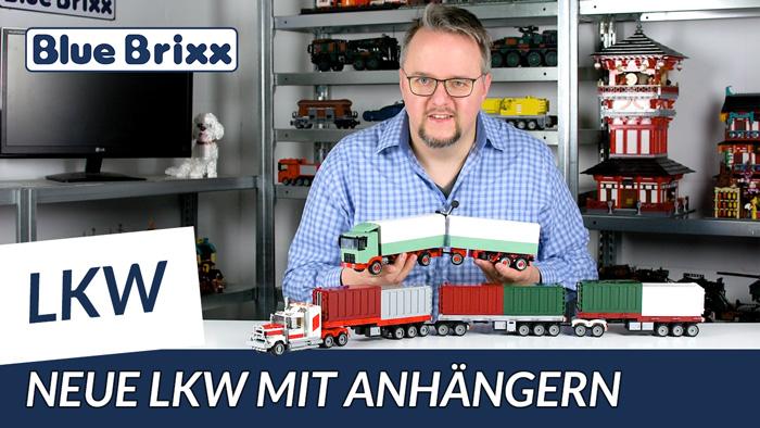 Youtube: Neue LKW-Modelle von BlueBrixx - mit riesigem Road Train!