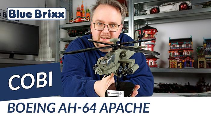 Youtube: Boeing AH-64 Apache von Cobi @ BlueBrixx