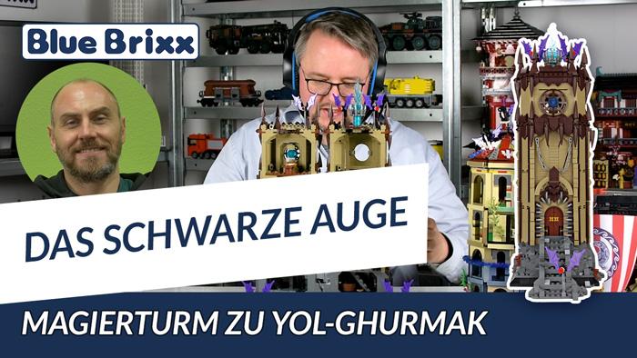 Das Schwarze Auge - Magierturm zu Yol-Ghurmak von BlueBrixx – Mit Nikolai Hoch!