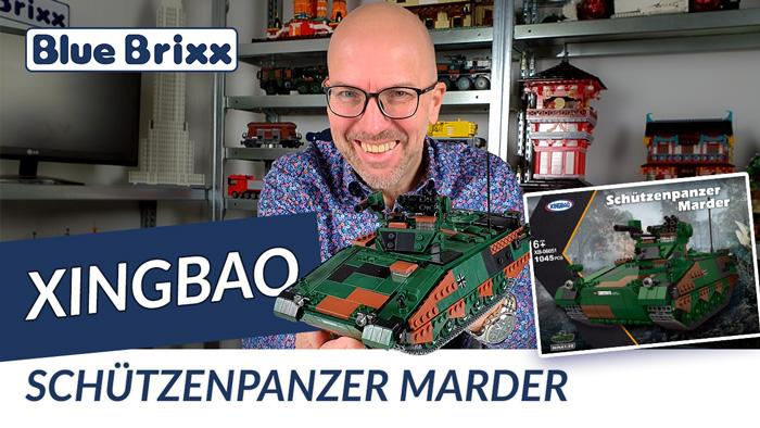 Bundeswehr Schützenpanzer Marder von Xingbao @ BlueBrixx