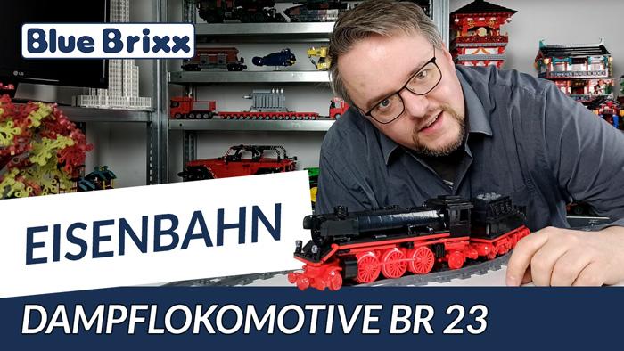 Dampflokomotive BR 23 von BlueBrixx