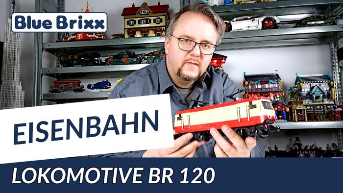 Lokomotive BR 120 von BlueBrixx