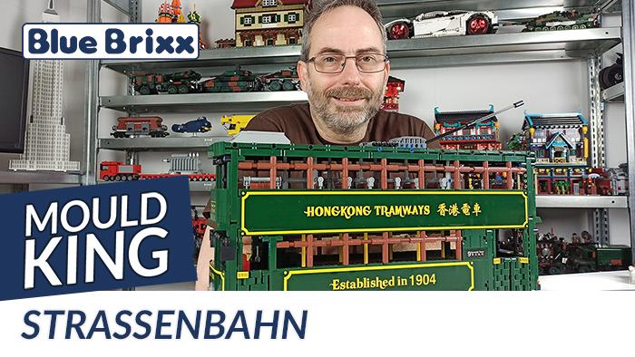 Youtube: Straßenbahn von Mould King @ BlueBrixx