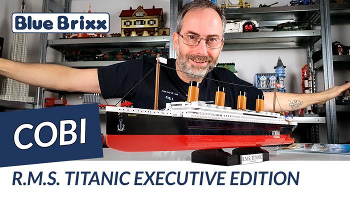Youtube: R.M.S. Titanic Executive Edition von Cobi @ BlueBrixx