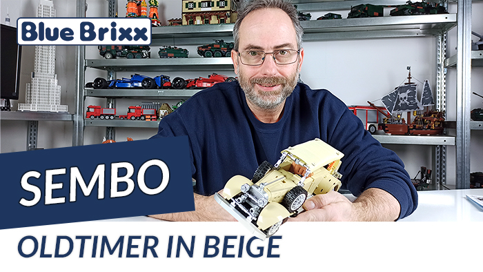 Youtube: Oldtimer in beige von Sembo @ BlueBrixx