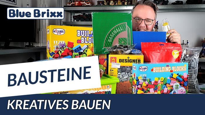 Youtube: Bausteine für kreatives Bauen - Zubehör-Sets bei BlueBrixx