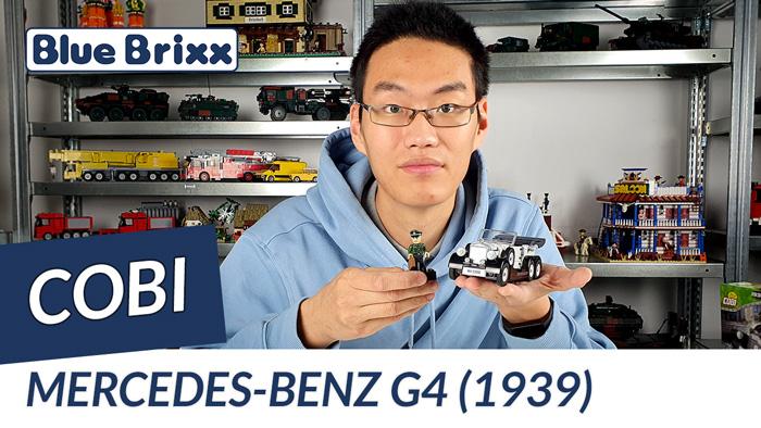 Mercedes Benz G4 von Cobi @ BlueBrixx