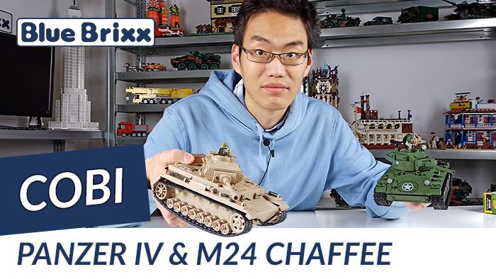 Panzerkampfwagen IV Ausf. G & Panzer U.S. Army M24 Chaffee von Cobi @ BlueBrixx