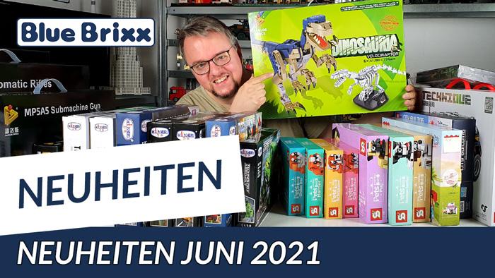 Youtube: Neuheiten bei BlueBrixx - viel Neues Anfang Juni eingetroffen!